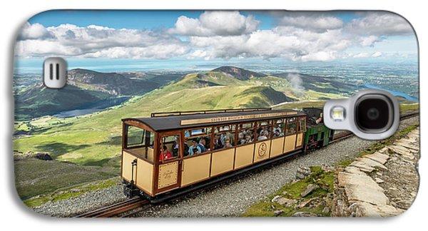 Mountain Train Galaxy S4 Case by Adrian Evans