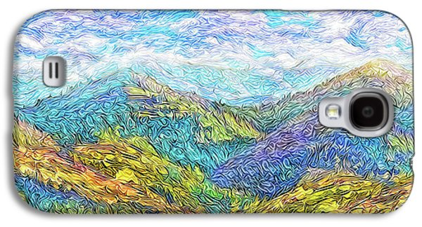Mountain Waves - Boulder Colorado Vista Galaxy S4 Case