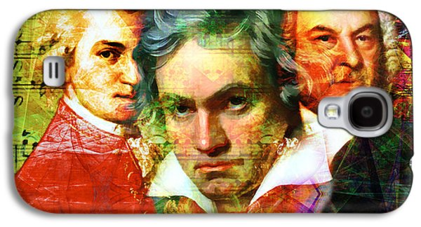 Mozart Beethoven Bach 20140128 Galaxy S4 Case