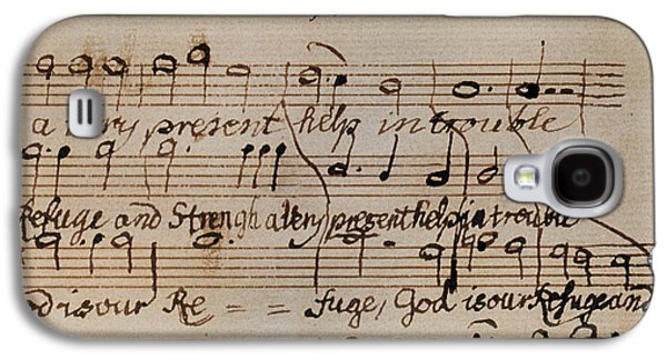 Mozart: Motet Manuscript Galaxy S4 Case