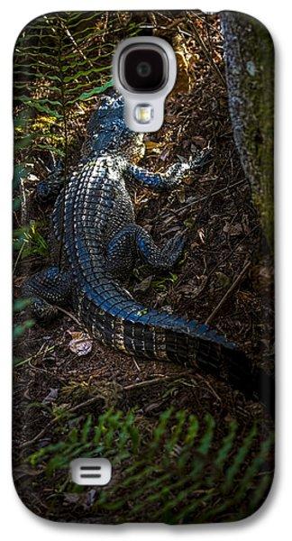 Crocodile Galaxy S4 Case - Mr Alley Gator by Marvin Spates