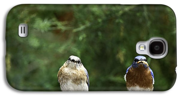 Mr And Mrs Galaxy S4 Case by Rob Travis