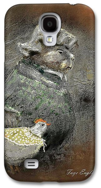 Mr. Groundhog And Miss Chick Galaxy S4 Case