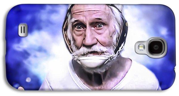 Mr. Joseph Blue Pulaski Galaxy S4 Case by Nicholas  Grunas