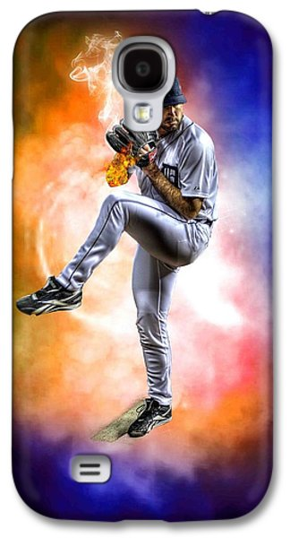 Mr. Justin Verlander Galaxy S4 Case