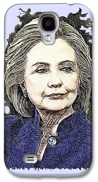 Mrs Hillary Clinton Galaxy S4 Case
