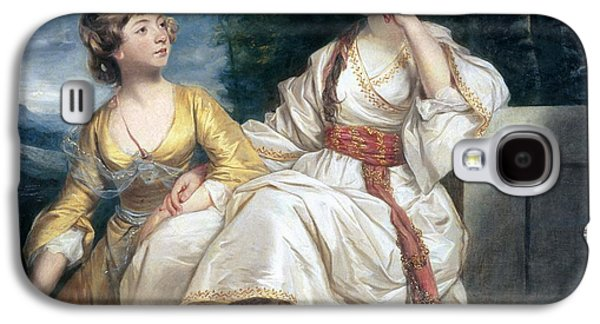 Mrs Thrale And Her Daughter Hester Galaxy S4 Case by Sir Joshua Reynolds