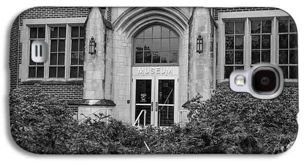 Msu Museum Black And White  Galaxy S4 Case by John McGraw