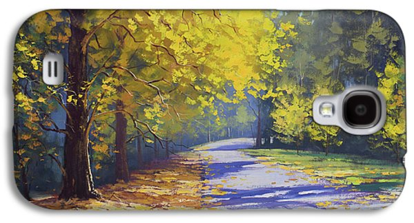 Fall Scenes Galaxy S4 Case - Mt Wilson Gold by Graham Gercken