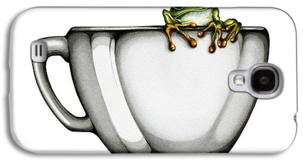 Frogs Galaxy S4 Case - Muggy by Christina Meeusen