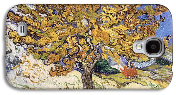 Mulberry Tree Galaxy S4 Case by Vincent Van Gogh