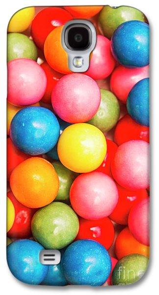 Multi Colored Gumballs. Sweets Background Galaxy S4 Case