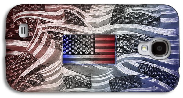 Multi - Flag Abstract 2 Galaxy S4 Case by Steve Ohlsen