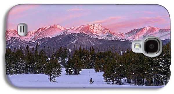 Mummy Range Winter Sunrise Galaxy S4 Case