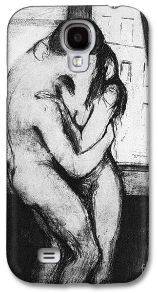 Munch: The Kiss, 1895 Galaxy S4 Case by Granger
