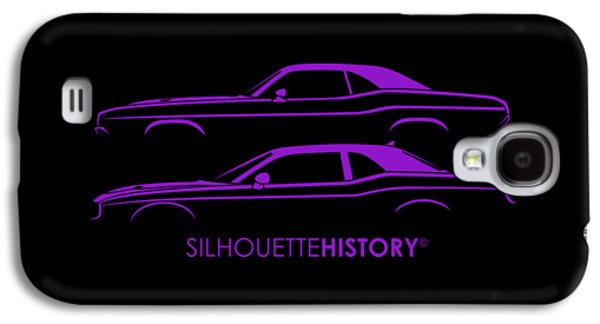 Muscle Pony Silhouettehistory Galaxy S4 Case by Gabor Vida