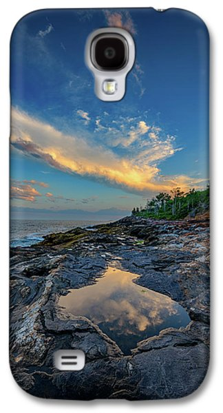 Muscongus Bay Reflections Galaxy S4 Case by Rick Berk