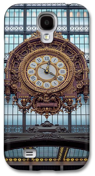 Musee D'orsay Gold Clock Galaxy S4 Case