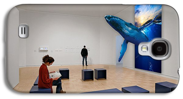Museum Whale Watching Galaxy S4 Case