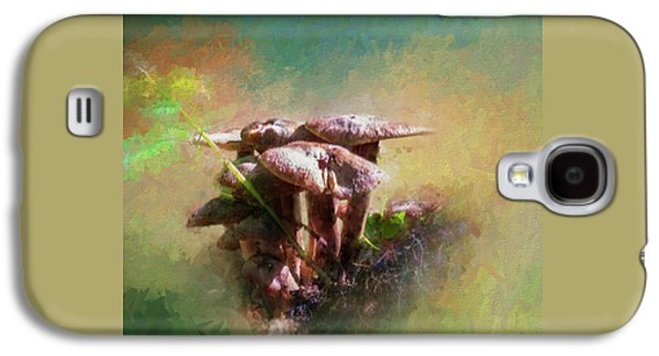 Mushroom Patch Galaxy S4 Case by Marvin Spates