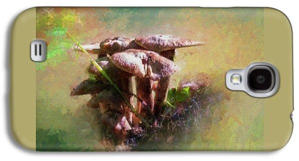Mushroom Patch Galaxy S4 Case