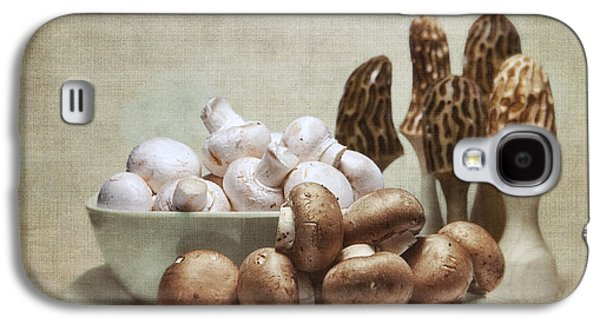 Mushrooms And Carvings Galaxy S4 Case by Tom Mc Nemar