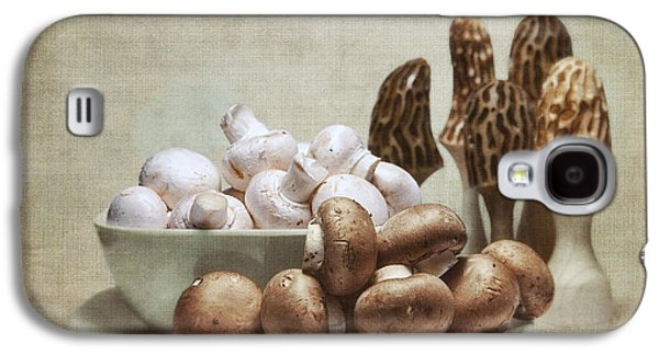 Mushrooms And Carvings Galaxy S4 Case