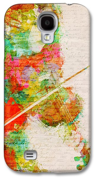 Music In My Soul Galaxy S4 Case by Nikki Smith