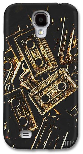 Music Nostalgia Galaxy S4 Case by Jorgo Photography - Wall Art Gallery
