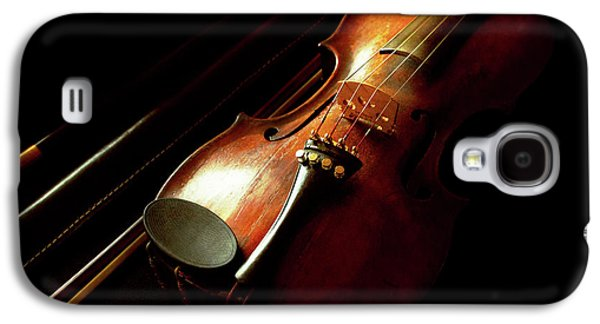 Music - Violin - The Classics Galaxy S4 Case by Mike Savad