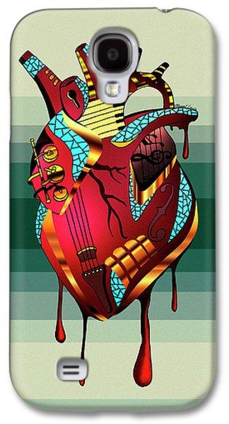 Musical Heart  Galaxy S4 Case