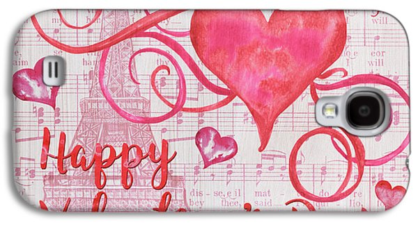 Musical Valentine Galaxy S4 Case by Debbie DeWitt