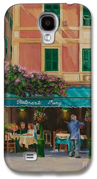 Musicians' Stroll In Portofino Galaxy S4 Case by Charlotte Blanchard