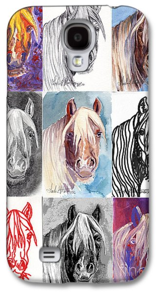 Mustang Mare 1154 Galaxy S4 Case by Linda L Martin