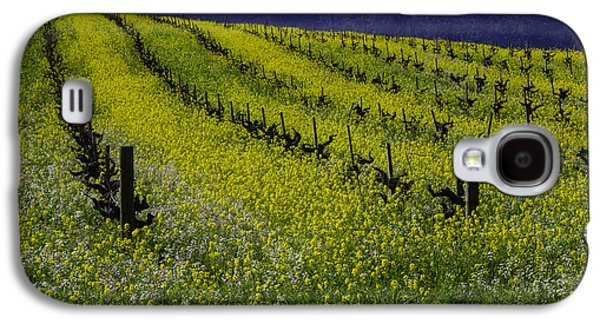 Mustard Grass Landscape Galaxy S4 Case by Garry Gay