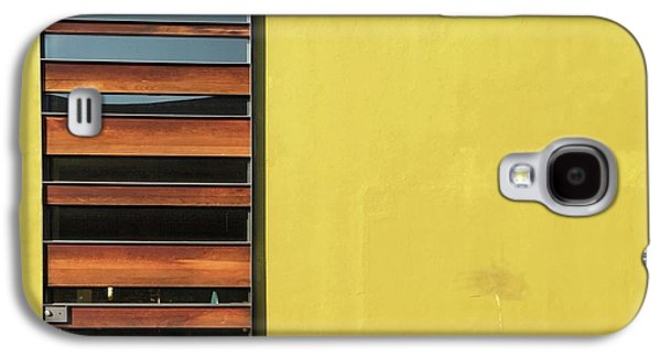 Galaxy S4 Case - Mustard Wall by Julie Gebhardt