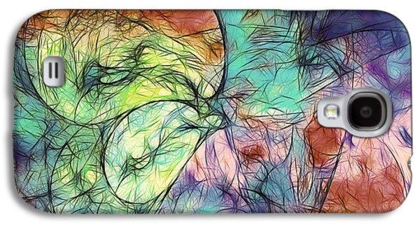 Muted Heaven Abstract Galaxy S4 Case by Georgiana Romanovna