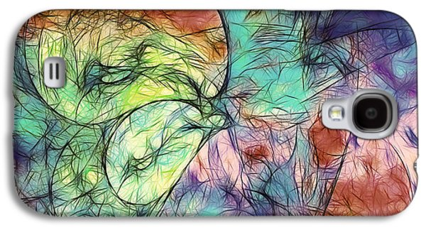 Muted Heaven Abstract Galaxy S4 Case