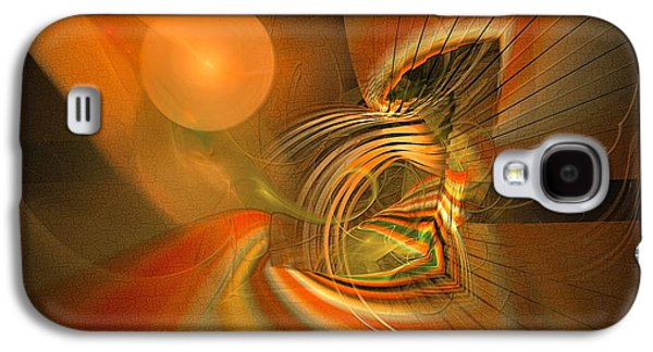 Mutual Respect - Abstract Art Galaxy S4 Case
