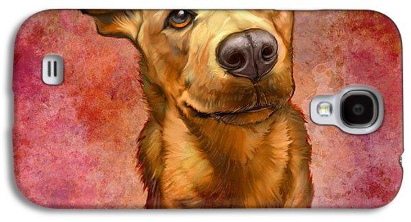 Dog Galaxy S4 Case - My Buddy by Sean ODaniels