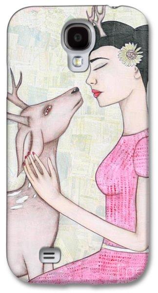 My Deer Galaxy S4 Case by Natalie Briney