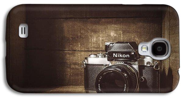 My First Nikon Camera Galaxy S4 Case by Scott Norris