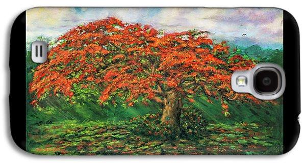 My Flamboyant Tree Galaxy S4 Case