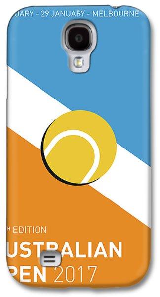My Grand Slam 01 Australian Open 2017 Minimal Poster Galaxy S4 Case by Chungkong Art