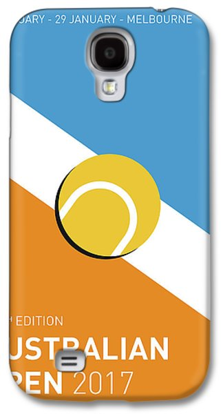 My Grand Slam 01 Australian Open 2017 Minimal Poster Galaxy S4 Case