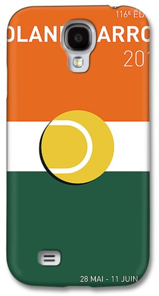 My Grand Slam 02 Rolandgarros 2017 Minimal Poster Galaxy S4 Case by Chungkong Art