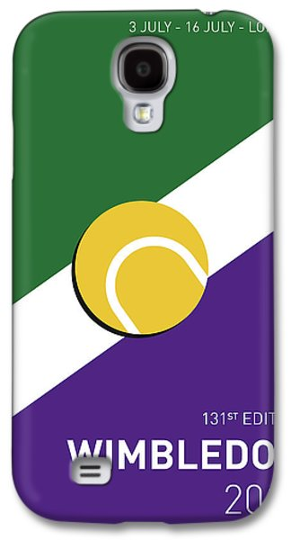 My Grand Slam 03 Wimbeldon Open 2017 Minimal Poster Galaxy S4 Case