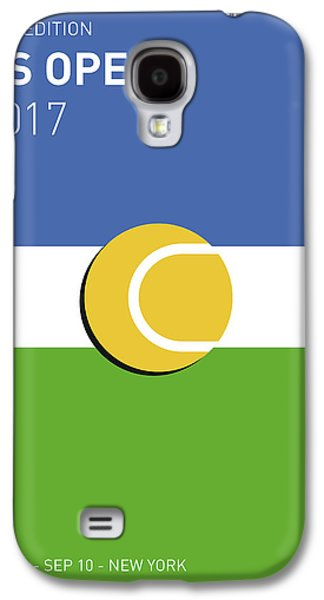 My Grand Slam 04 Us Open 2017 Minimal Poster Galaxy S4 Case by Chungkong Art
