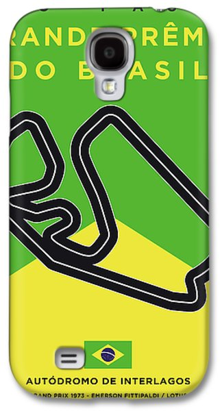 My Grande Premio Do Brasil Minimal Poster Galaxy S4 Case