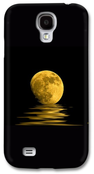 My Harvest Moon Galaxy S4 Case by Lynn Andrews